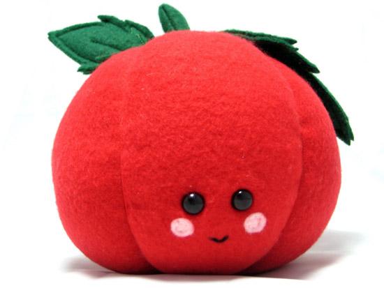 Tommie - Plushie Tomato