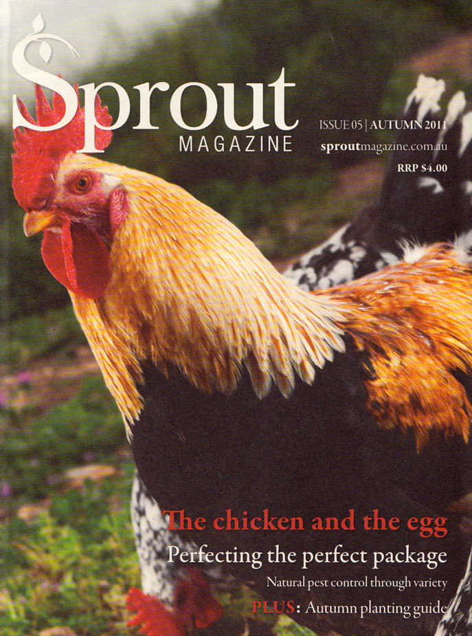 Sprout - Autumn 2011 cover